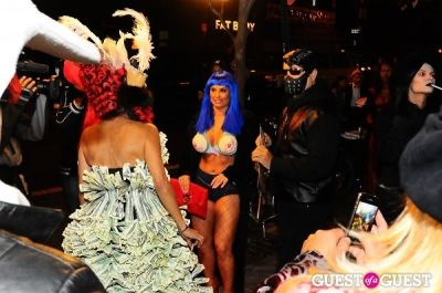 coco austin in Patricia Field Aristo Halloween Party!