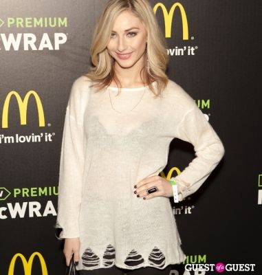 cody kennedy in McDonald's Premium McWrap Launch With John Martin and Tyga Performance