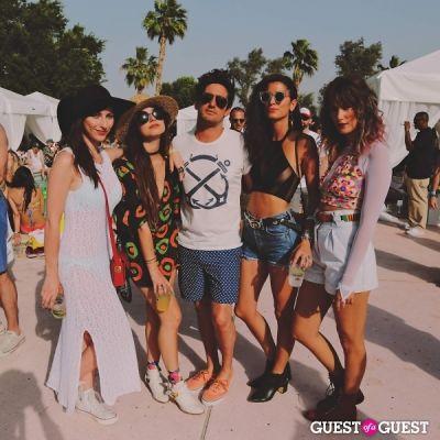 cody kennedy in Coachella: LACOSTE Desert Pool Party 2014