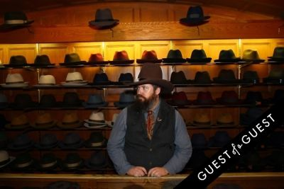 collin blair in Stetson and JJ Hat Center Celebrate Old New York with Just Another, One Dapper Street, and The Metro Man