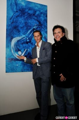 conor mccreedydr.-geoffrey-scott-carroll in Conor Mccreedy - African Ocean exhibition opening