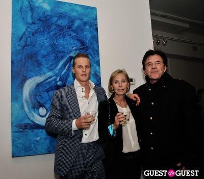 geoffrey scott-carroll in Conor Mccreedy - African Ocean exhibition opening