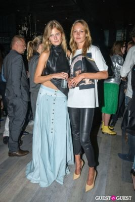 constance jablonski in Oliver Theyskens Theory After Party