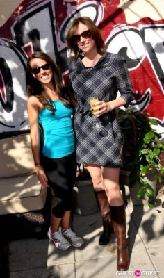 rebecca loveridge in Brunettes Who Brunch with Cori Sue Morris