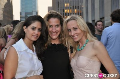 corinne levy in AFTAM Young Patron's Rooftop SOIREE