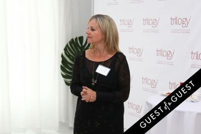 corinne morley in Discover Trilogy Press Launch
