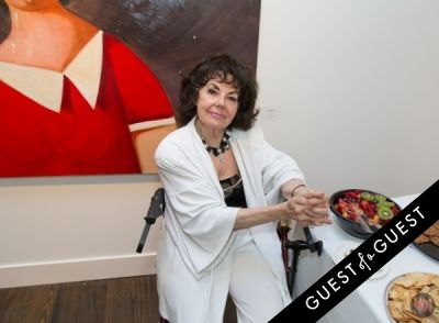 countess elyse-von-geick in Gallery Valentine, Mas Creative And Beach Magazine Present The Art Southampton Preview
