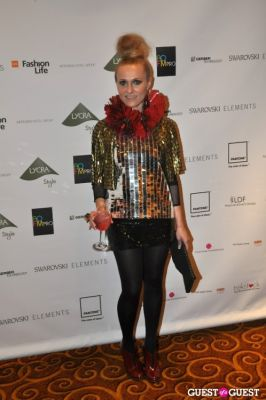 courtney blackman in WGSN Global Fashion Awards.
