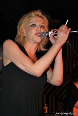 courtney love in Alexander Wang Afterparty