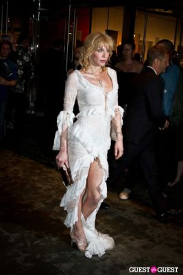 courtney love in Annual Amfar Foundation Benefit at the MoMA