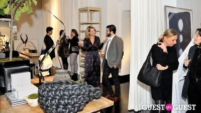 courtney lukitsch in Michael Dawkins Home NYC Showroom and Design Studio Opening