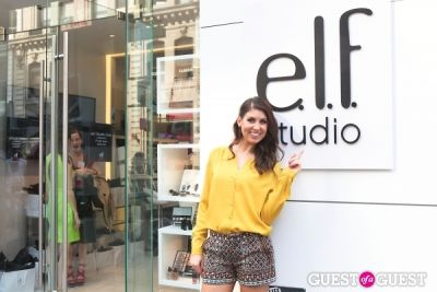 courtney nejedly in e.l.f. Studio Grand Opening