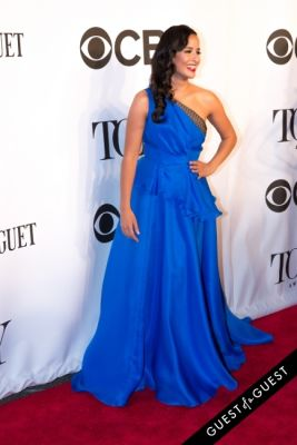 courtney reed in The Tony Awards 2014