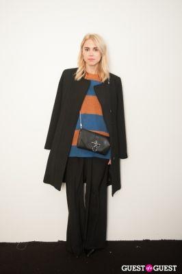 courtney trop in NYC Fashion Week FW 14 Street Style Day 1