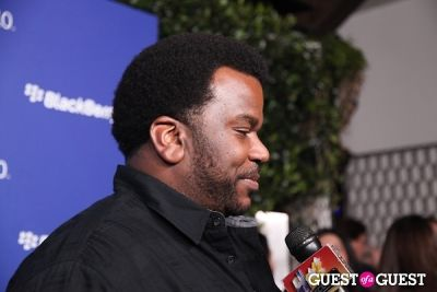 craig robinson in BlackBerry Z10 Launch