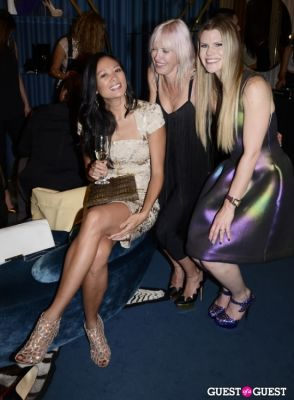 alexa wolman-and-suzy-buckley-woodward in Sergio Rossi Party at Bal Harbour Shops