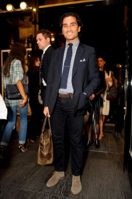 cristiano de-rossi in Yves Saint Laurent Fashion's Night Out