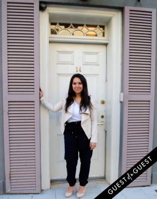 cristina tsanas in NYU Street Style 2015