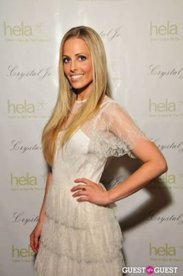 crystal hannon in Crystal Jo Spring/Summer Pret-a-Porter 2012 Launch Party