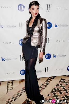 crystal renn in FIT Gala