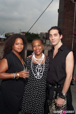 andrew mukamal in GMHC Fashion Forward Rooftop Reception