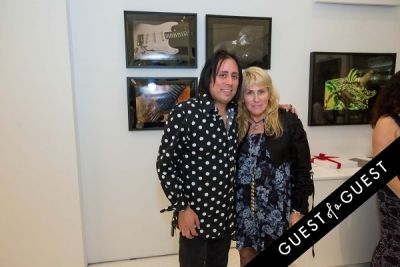 lisa s.-johnson in Lisa S. Johnson 108 Rock Star Guitars Artist Reception & Book Signing