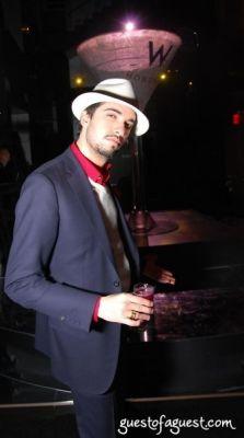 dj cassidy in W Hotel Hoboken with Jamie Foxx