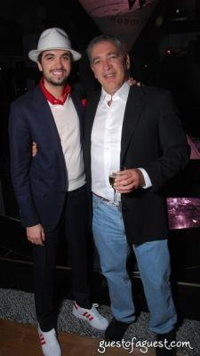 richard miller in W Hotel Hoboken with Jamie Foxx