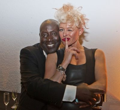 dj catrina-davies in Luxury Living / FENDI Casa Art Basel party