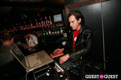 dj david-katz in Silent Models NYFW Wrap Party