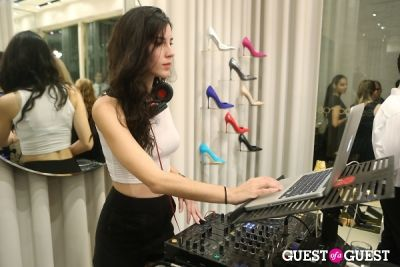 dj desire in Sergio Rossi Party at Bal Harbour Shops