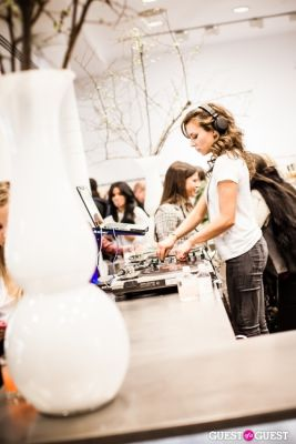 dj ms.-nix in Cher Coulter AG Jeans Collection Launch at Scoop NYC