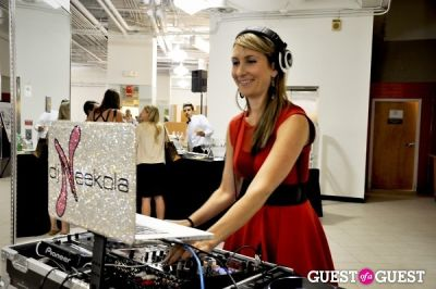 dj neekola in District Sample Sale Fall 2012