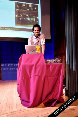 dj scott-williams in 92Y's Emerging Leadership Council second annual Eat, Sip, Bid Autumn Benefit