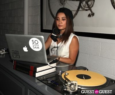 dj sosupersam in LA CANVAS Presents The Fashion Issue Release