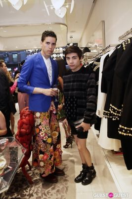 tim barron in Moschino Store Event
