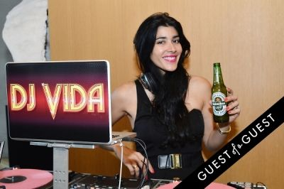dj vida-ventura in Open Your World Networking Event: Presented By Heineken