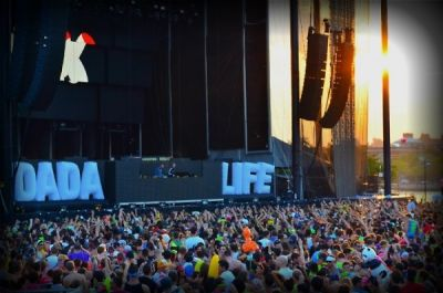 dada life in Electric Zoo 2012