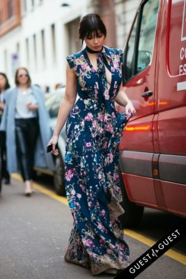 daisy lowe in Milan Fashion Week PT 2