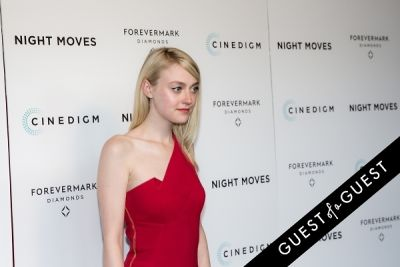 dakota fanning in Night Moves Premiere