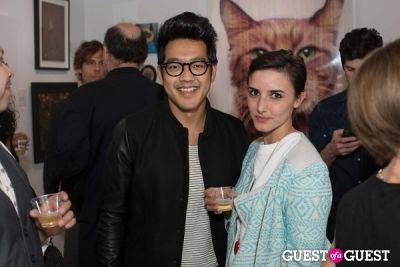 dan chang in Cat Art Show Los Angeles Opening Night Party at 101/Exhibit
