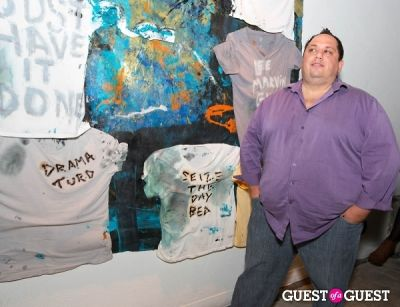 dan constanza in Preview Party for Billy Zane's Solo Art Exhibition: