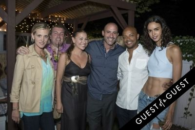 sarah gladstone in The Untitled Magazine Hamptons Summer Party Hosted By Indira Cesarine & Phillip Bloch