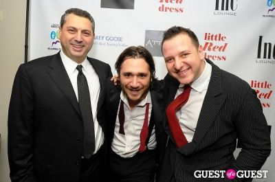 dan izhaky in Attica's Little Red Dress Event