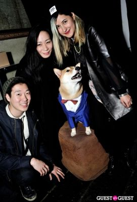 andrea messier-cuomo in Menswear Dog's Capsule Collection launch party