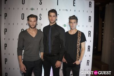 bryce thompson-and-justin-hopwood in Poster Magazine US Launch Party