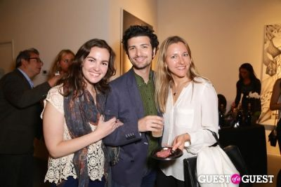 joel rubin in IvyConnect Art Gallery Reception at Moskowitz Gallery