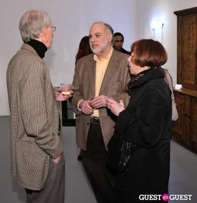 john greenberger in Retrospect exhibition opening at Charles Bank Gallery
