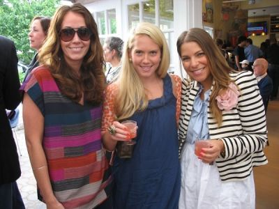 erika johnson in Serafina East Hampton Opening