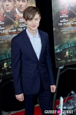 dane dehaan in The Place Beyond The Pines NYC Premiere